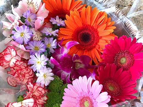 献花の注文・手配
