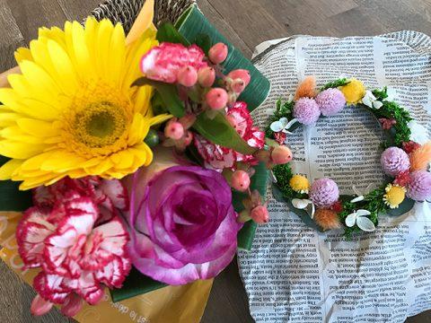 花かんむり+ブーケセットS